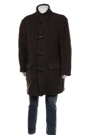 Мъжко палто Barisal, Размер L, Цвят Кафяв, 80% вълна, 20% полиамид, Цена 30,03лв.