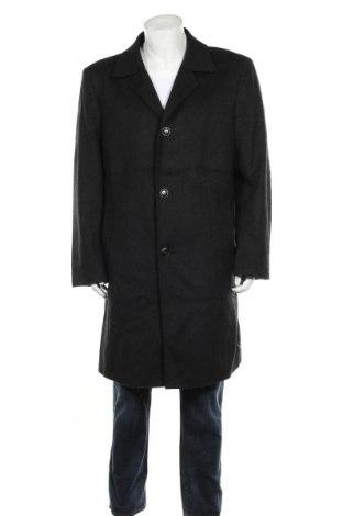 Мъжко палто Bexleys, Размер XL, Цвят Черен, 60% вълна, 35% полиестер, 5% полиамид, Цена 25,36лв.