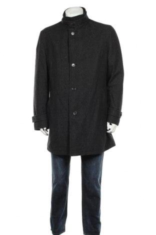Palton de bărbați Bugatti, Mărime L, Culoare Negru, 70% lână, 30% poliamidă, Preț 400,21 Lei