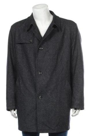 Ανδρικά παλτό Bugatti, Μέγεθος XL, Χρώμα Μπλέ, 50% μαλλί, 30% πολυεστέρας, 20% βαμβάκι, Τιμή 81,84€