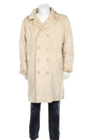 Pánský kabát  Clockhouse, Velikost L, Barva Krémová, Polyester, Cena  370,00Kč