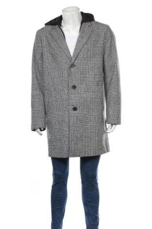 Ανδρικά παλτό Clockhouse, Μέγεθος XXL, Χρώμα Γκρί, 95% πολυεστέρας, 5% μαλλί, Τιμή 53,26€