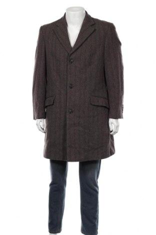Ανδρικά παλτό Daniel Hechter, Μέγεθος L, Χρώμα Καφέ, 80% μαλλί, 20% πολυαμίδη, Τιμή 57,15€