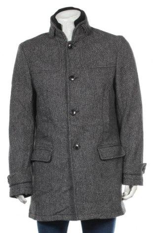 Ανδρικά παλτό Esprit, Μέγεθος L, Χρώμα Γκρί, 60% μαλλί, 40% βισκόζη, Τιμή 57,15€