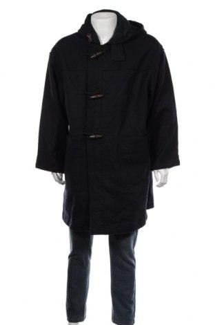 Мъжко палто Fila, Размер XL, Цвят Син, 80% вълна, 20% полиамид, Цена 18,11лв.