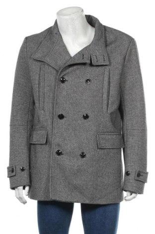 Ανδρικά παλτό H&M, Μέγεθος XL, Χρώμα Γκρί, 39% πολυεστέρας, 32% βισκόζη, 29% μαλλί, Τιμή 46,11€