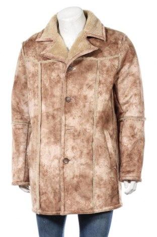Ανδρικά παλτό Jack & Jones, Μέγεθος XL, Χρώμα  Μπέζ, Πολυεστέρας, Τιμή 51,31€