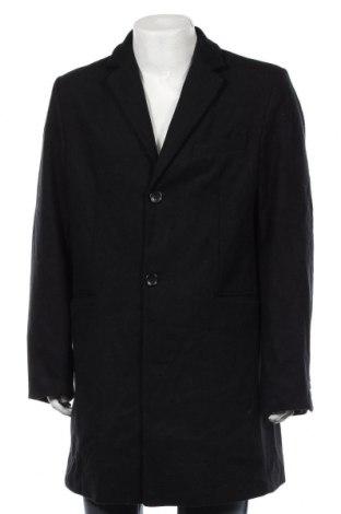 Ανδρικά παλτό Royal Class, Μέγεθος XL, Χρώμα Μπλέ, 50% πολυεστέρας, 40% μαλλί, 10% άλλα υφάσματα, Τιμή 36,37€