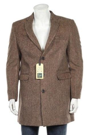 Мъжко палто Sir Raymond Tailor, Размер L, Цвят Кафяв, 20% вълна, 35% полиестер, 45% акрил, Цена 147,82лв.