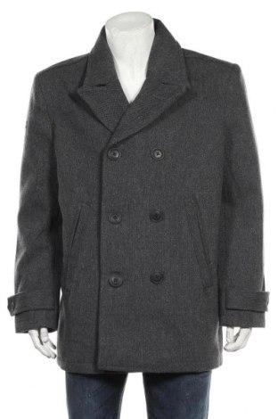 Pánský kabát  Superdry, Velikost XXL, Barva Šedá, 58% vlna, 31% polyester, 5%acryl, 5% polyamide, 1% viskóza, Cena  2143,00Kč