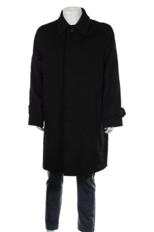 Мъжко палто TCM, Размер L, Цвят Черен, 90% вълна, 10% кашмир, Цена 86,10лв.
