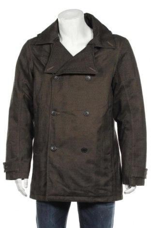 Мъжко палто Vaude, Размер L, Цвят Зелен, Полиестер, Цена 39,59лв.
