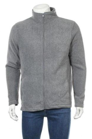 Ανδρική ζακέτα fleece B Collection, Μέγεθος L, Χρώμα Γκρί, Πολυεστέρας, Τιμή 16,89€