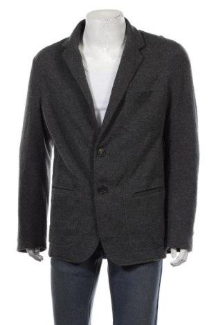 Ανδρικό σακάκι, Μέγεθος XL, Χρώμα Γκρί, 60% μερινό, 40% βαμβάκι, Τιμή 7,05€