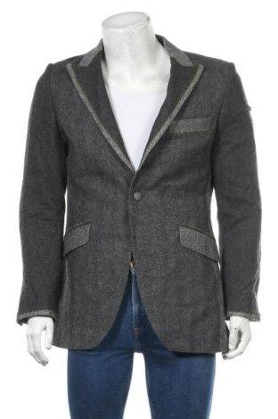 Мъжко сако, Размер M, Цвят Сив, Цена 8,51лв.