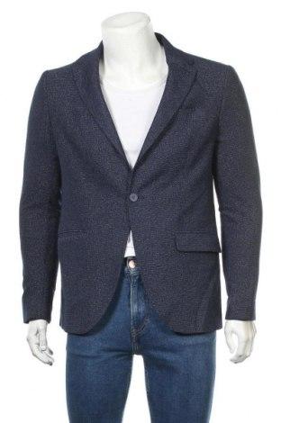 Мъжко сако, Размер XL, Цвят Син, 51% вискоза, 49% полиестер, Цена 29,40лв.