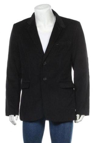 Мъжко сако Andrews, Размер M, Цвят Син, 65% памук, 35% тенсел, Цена 46,31лв.