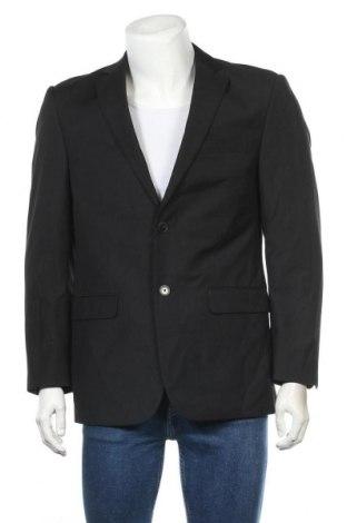 Мъжко сако Angelo Litrico, Размер M, Цвят Черен, 65% полиестер, 35% вискоза, Цена 37,80лв.