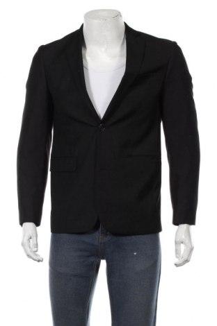 Мъжко сако Angelo Litrico, Размер L, Цвят Черен, Цена 5,59лв.