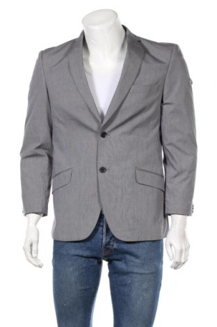 Мъжко сако Angelo Litrico, Размер M, Цвят Син, 98% памук, 2% еластан, Цена 7,61лв.