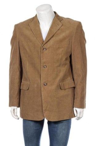 Мъжко сако Angelo Litrico, Размер L, Цвят Бежов, 100% памук, Цена 23,52лв.