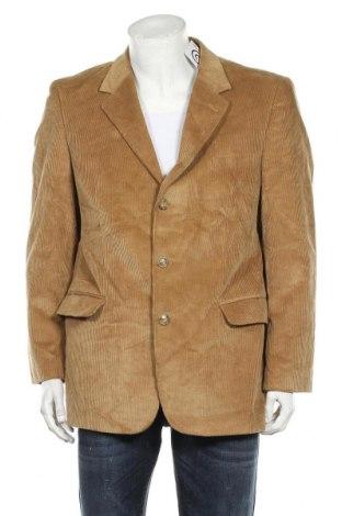 Мъжко сако Angelo Litrico, Размер L, Цвят Бежов, 85% памук, 15% полиестер, Цена 7,09лв.