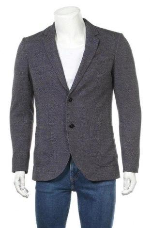 Pánské sako  C&A, Velikost M, Barva Modrá, 70% polyester, 28% viskóza, 2% elastan, Cena  383,00Kč