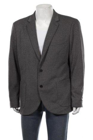 Мъжко сако Canda, Размер XXL, Цвят Сив, 74% полиестер, 24% памук, Цена 16,75лв.