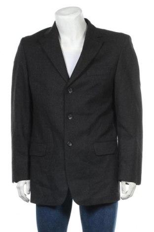 Мъжко сако Canda, Размер L, Цвят Сив, 98% вълна, 2% еластан, Цена 8,66лв.