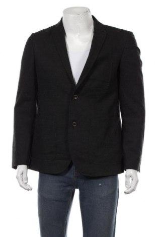 Мъжко сако Cg, Размер M, Цвят Черен, 98% вълна, 2% еластан, Цена 19,85лв.