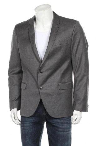 Ανδρικό σακάκι Drykorn for beautiful people, Μέγεθος L, Χρώμα Γκρί, 98% μαλλί, 2% ελαστάνη, Τιμή 41,29€