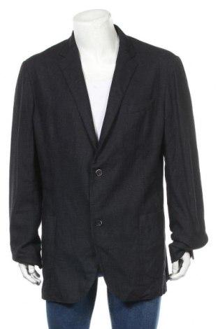 Pánské sako  Eduard Dressler, Velikost XL, Barva Modrá, 54% bavlna, 28% vlna, 12% polyamide, 6% hedvábí, Cena  1419,00Kč