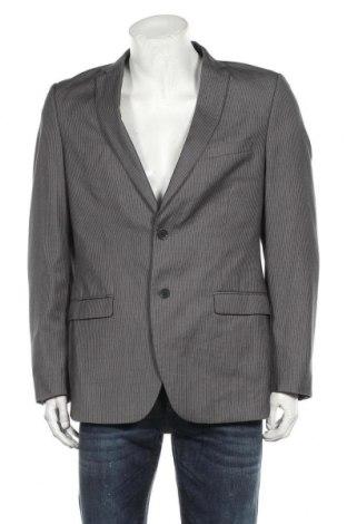 Мъжко сако H&M, Размер L, Цвят Сив, 65% полиестер, 35% вискоза, Цена 10,88лв.