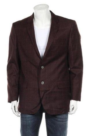 Мъжко сако Hugo Boss, Размер XL, Цвят Червен, Вълна, Цена 132,30лв.