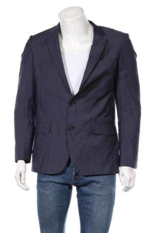 Ανδρικό σακάκι Hugo Boss, Μέγεθος M, Χρώμα Μπλέ, 100% μαλλί, Τιμή 25,46€