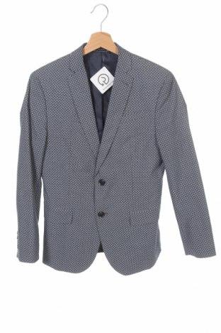 Мъжко сако J.Ferrar, Размер S, Цвят Син, 97% памук, 3% еластан, Цена 17,64лв.
