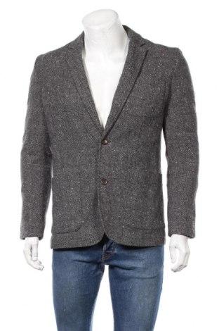 Ανδρικό σακάκι Jack & Jones, Μέγεθος L, Χρώμα Γκρί, 70% μαλλί, 30% πολυεστέρας, Τιμή 23,38€