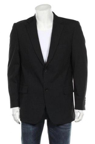 Мъжко сако Lagerfeld, Размер L, Цвят Черен, 98% вълна, 2% еластан, Цена 23,60лв.