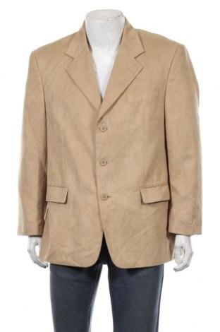 Мъжко сако Man's World, Размер XL, Цвят Бежов, Полиестер, Цена 6,24лв.