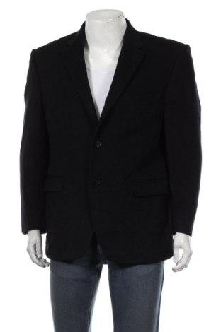 Мъжко сако Marks & Spencer, Размер S, Цвят Черен, 96% вълна, 4% кашмир, Цена 8,66лв.