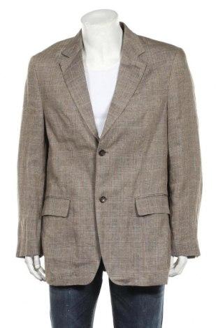 Мъжко сако McNeal, Размер XL, Цвят Кафяв, Лен, Цена 8,14лв.