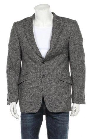Мъжко сако Strellson, Размер M, Цвят Сив, Вълна, Цена 42,63лв.