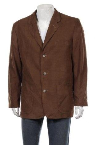 Мъжко сако Paul R. Smith, Размер XL, Цвят Кафяв, Полиестер, Цена 7,61лв.