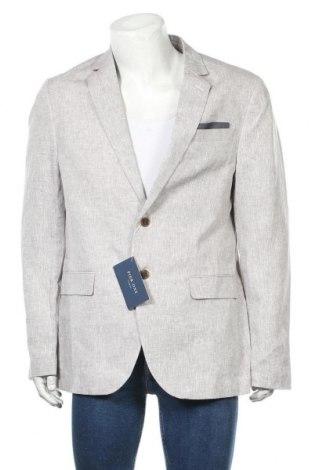 Мъжко сако Pier One, Размер XL, Цвят Сив, 100% лен, Цена 66,75лв.