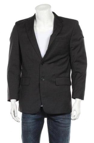 Мъжко сако Pierre Cardin, Размер S, Цвят Сив, Вълна, Цена 39,00лв.