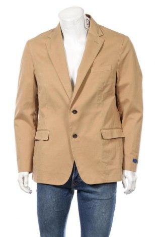 Мъжко сако Polo By Ralph Lauren, Размер S, Цвят Кафяв, 98% памук, 2% еластан, Цена 101,97лв.