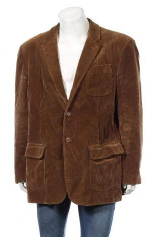 Ανδρικό σακάκι Polo By Ralph Lauren, Μέγεθος XXL, Χρώμα Καφέ, Βαμβάκι, Τιμή 26,63€