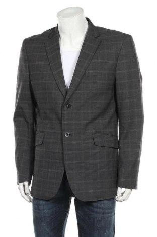 Ανδρικό σακάκι Premium By Jack & Jones, Μέγεθος L, Χρώμα Γκρί, 60% μαλλί, 38% πολυεστέρας, 2% ελαστάνη, Τιμή 27,37€