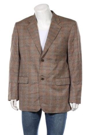 Мъжко сако Rosner, Размер XL, Цвят Кафяв, 100% вълна, Цена 6,83лв.