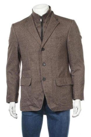 Мъжко сако Roy Robson, Размер L, Цвят Кафяв, 66% вълна, 26% полиамид, 8% коприна, Цена 50,87лв.